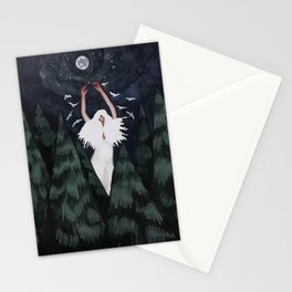 Moon Worship Stationery Cards