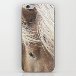 Icelandic Horse iPhone Skin