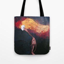 Hugging my star Tote Bag