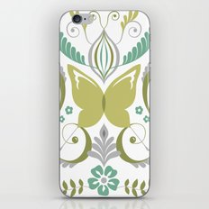 Butterfly Damask - Spring Mod iPhone & iPod Skin