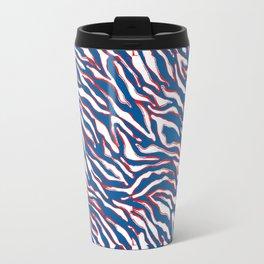 Buffalo Football Stripes Travel Mug