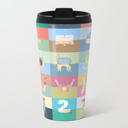 Pantless Project / Normal Mode Metal Travel Mug
