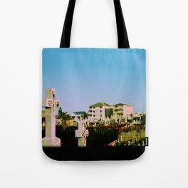 Suburban afterlife Tote Bag