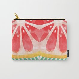 Red Grapefruit Abstract Carry-All Pouch