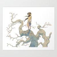 Amazone Art Print