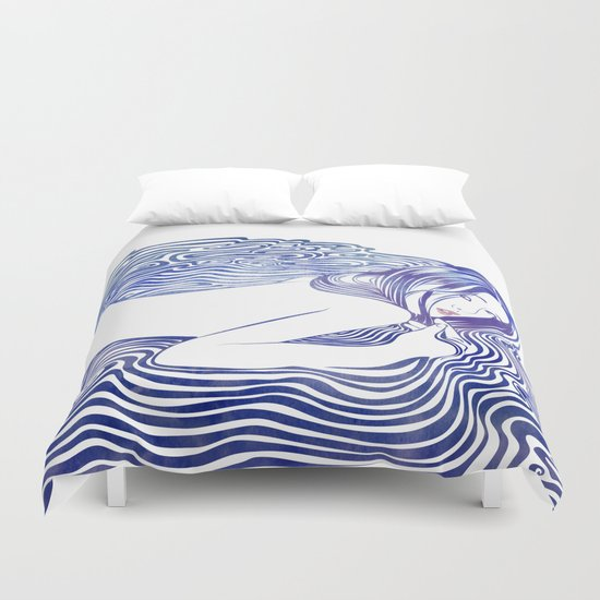 Water Nymph XXI Duvet Cover
