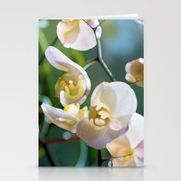 orchid Stationery Cards featuring Orchid by Joke Vermeer
