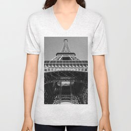 Eiffel Tower, Paris, France Unisex V-Neck