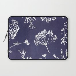 Wildflowers-Indigo Laptop Sleeve