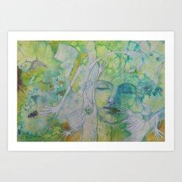 A dream -i-  Art Print