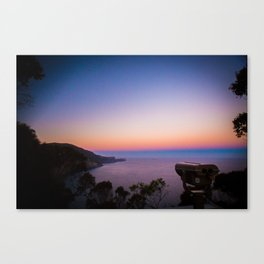 Sunset views Canvas Print