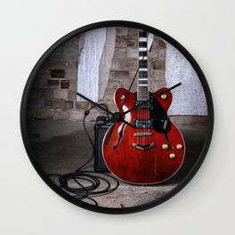 Guitar Hero Wall Clock