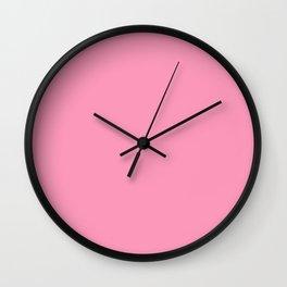 Part Pink Wall Clock