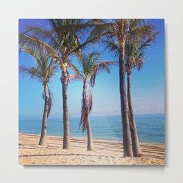 Ft Lauderdale Beach Metal Print