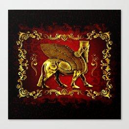 Assyrian Lamassu Canvas Print