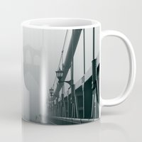 marc johns Mugs featuring Grey St. Johns by Cameron Booth