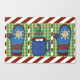 Cozy Christmas! Canvas Print