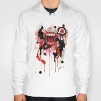 vampire diaries Hoodies featuring Vampire by Daniel Savoie