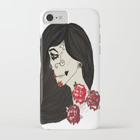 gypsy iPhone & iPod Cases featuring gypsy by Zombie Doll  Clothing & Art