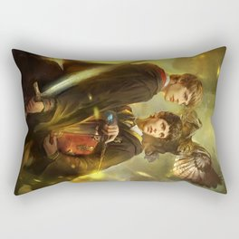 BBC Merlin: Emrys Ascending  Rectangular Pillow