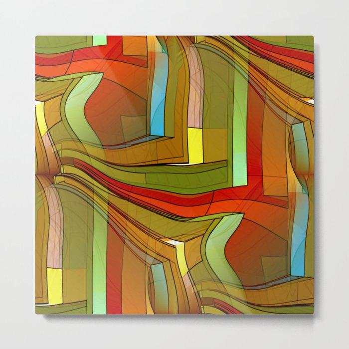 colormix -1- Metal Print