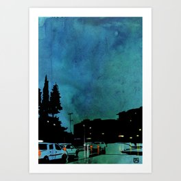 nightscape 03 Art Print
