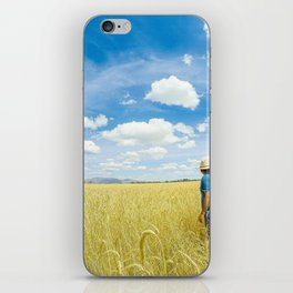 look at all this rye grass iPhone Skin