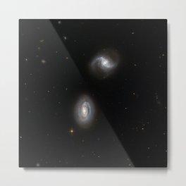 Hubble Space Telescope - Inseparable galactic twins Metal Print