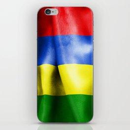 Mauritius Flag iPhone Skin