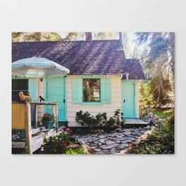 Stevie's Lake Tahoe Cottage Canvas Print