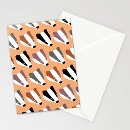 The Badgers Stationery Cards