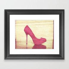 Get high Framed Art Print