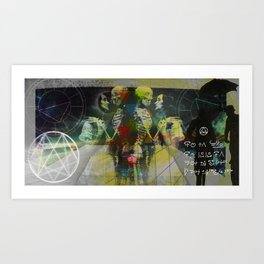 My Astral Body Headspace Art Print