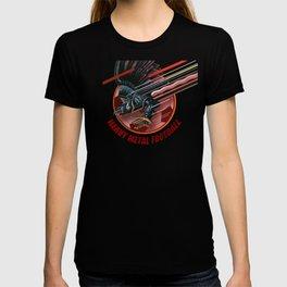 Heavy Metal Football T-shirt