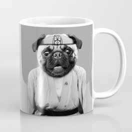 KARATE PUG Coffee Mug