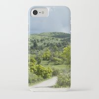 running iPhone & iPod Cases featuring Running  by Julie Luke