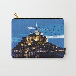 Mont Saint-Michel Carry-All Pouch