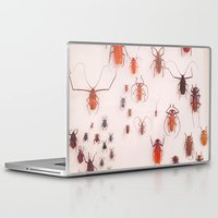 insects Laptop & iPad Skins featuring Insects by Guo Shiyuan