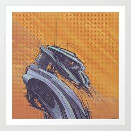 Robot 66 Art Print
