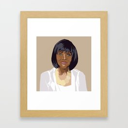 Cicely Tyson Framed Art Print