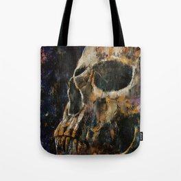 Gold Skull Tote Bag
