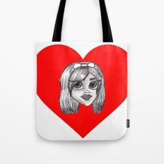 Vampire Valentine Tote Bag