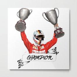 Champion Metal Print
