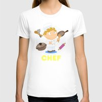 chef T-shirts featuring Chef by Alapapaju