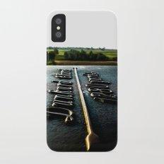 [1280 yards] As the bird flies iPhone X Slim Case