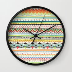 Pattern No.3 Wall Clock