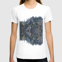 Mirrored landscape 4 pyrenees T-shirt