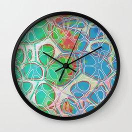 Modern Abstract Painting Ten Wall Clock
