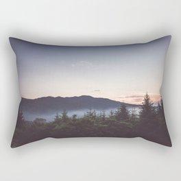 Night is coming Rectangular Pillow