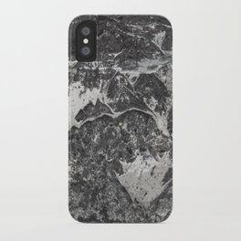 Grunge old vintage wall iPhone Case